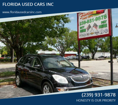 2008 Buick Enclave for sale at FLORIDA USED CARS INC in Fort Myers FL