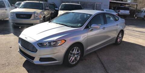 2015 Ford Fusion for sale at Baton Rouge Auto Sales in Baton Rouge LA