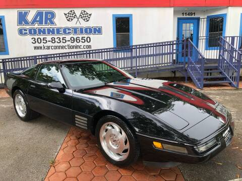 1993 Chevrolet Corvette for sale at Kar Connection in Miami FL