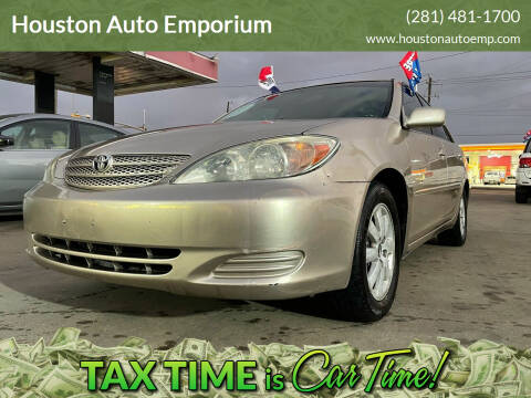 2002 Toyota Camry for sale at Houston Auto Emporium in Houston TX