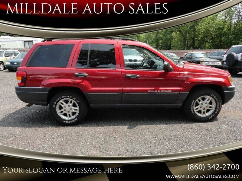 2004 Jeep Grand Cherokee for sale at MILLDALE AUTO SALES in Portland CT
