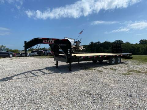 2021 Elite 25' Deck Over Gooseneck for sale at Ken's Auto Sales & Repairs in New Bloomfield MO