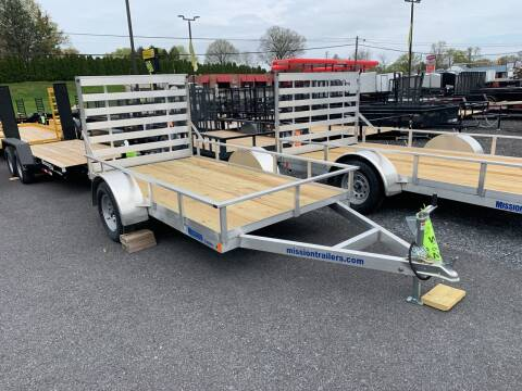 2020 Mission 5 1/2x10  ALUMINUM for sale at Smart Choice 61 Trailers in Shoemakersville PA
