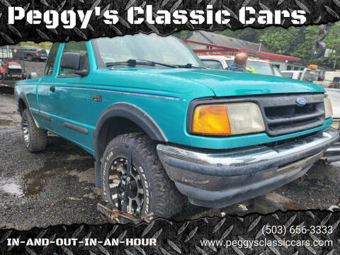 1993 Ford Ranger for sale at Peggy's Classic Cars in Oregon City OR