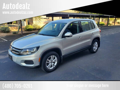 2012 Volkswagen Tiguan for sale at Autodealz in Tempe AZ