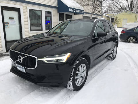2018 Volvo XC60 for sale at Snowfire Auto in Waterbury VT