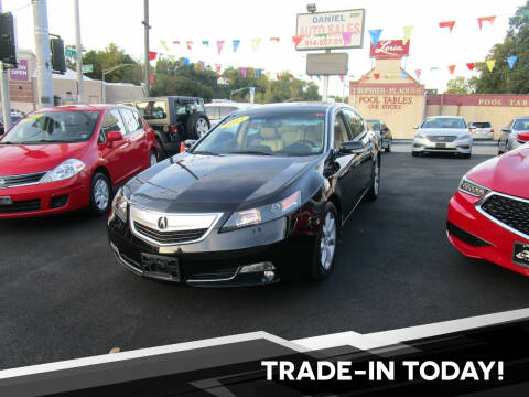 2013 Acura TL for sale at Daniel Auto Sales in Yonkers NY
