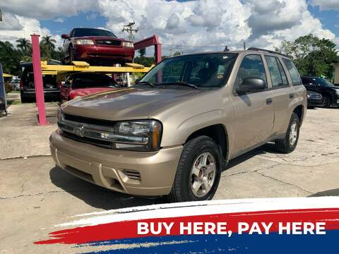 2006 Chevrolet TrailBlazer for sale at Mid City Motors Auto Sales - Mid City North in N Fort Myers FL