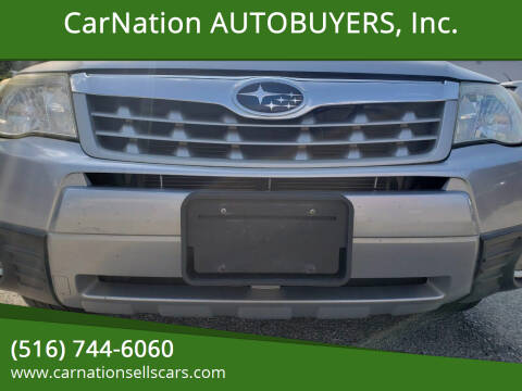 2012 Subaru Forester for sale at CarNation AUTOBUYERS Inc. in Rockville Centre NY