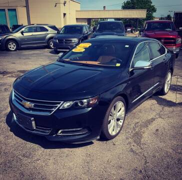 2014 Chevrolet Impala for sale at Big Three Auto Sales Inc. in Detroit MI
