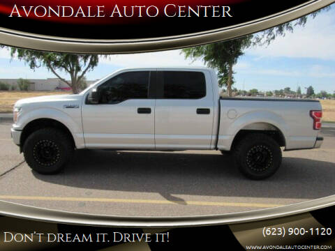 2018 Ford F-150 for sale at Avondale Auto Center in Avondale AZ