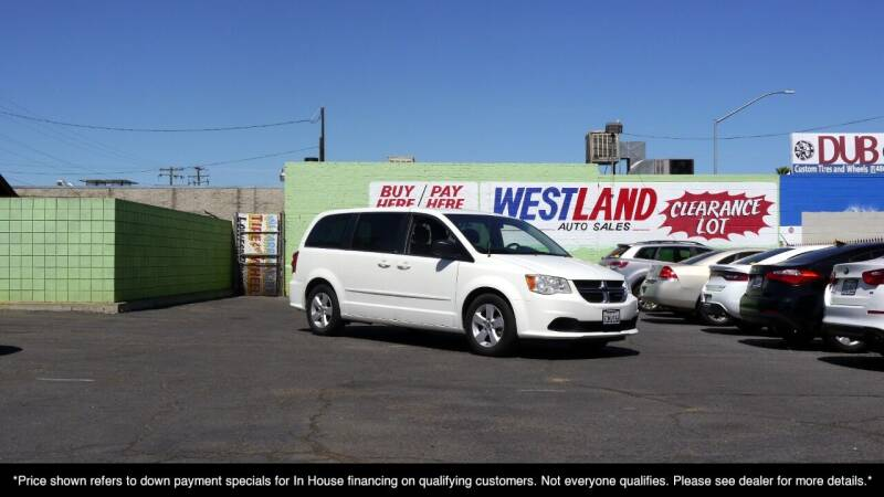2013 Dodge Grand Caravan for sale at Westland Auto Sales on 7th in Fresno CA