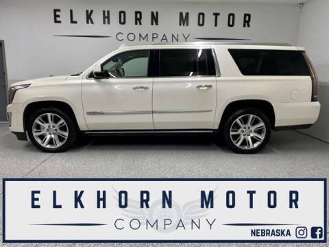 2015 Cadillac Escalade ESV for sale at Elkhorn Motor Company in Waterloo NE