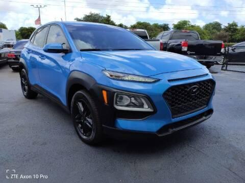 2019 Hyundai Kona for sale at Start Auto Liquidation Center in Miramar FL