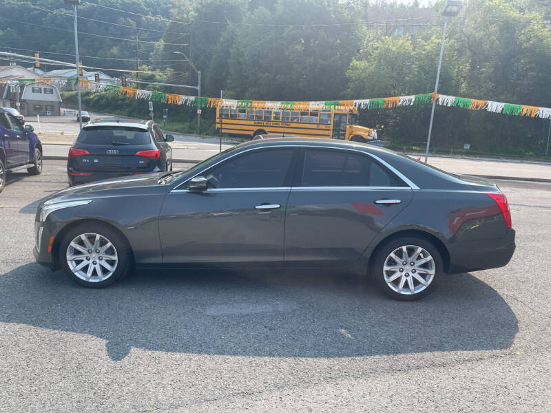 2015 Cadillac CTS for sale at Mulligan's Auto Exchange LLC in Paxinos PA