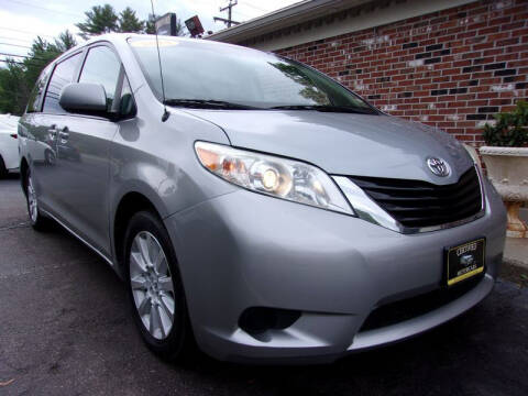 2014 Toyota Sienna for sale at Certified Motorcars LLC in Franklin NH