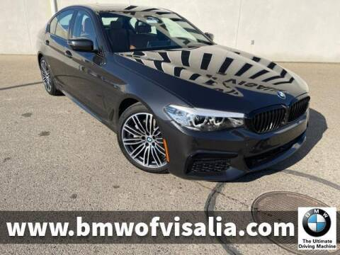 2020 BMW 5 Series for sale at BMW OF VISALIA in Visalia CA