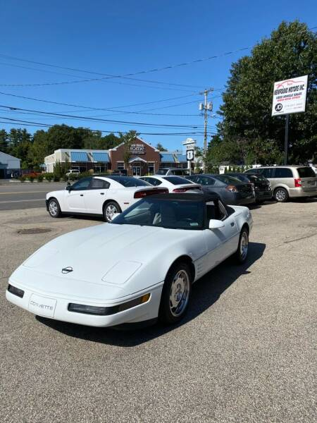 1992 Chevrolet Corvette for sale at NEWFOUND MOTORS INC in Seabrook NH