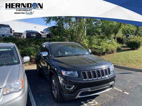 2014 Jeep Grand Cherokee for sale at Herndon Chevrolet in Lexington SC