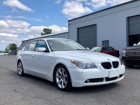 2007 BMW 5 Series for sale at DASH AUTO SALES LLC in Salem OR