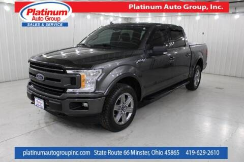 2018 Ford F-150 for sale at Platinum Auto Group Inc. in Minster OH