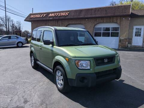 2006 Honda Element for sale at Worley Motors in Enola PA