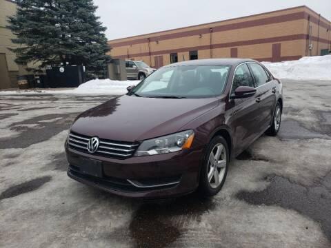 2012 Volkswagen Passat for sale at Fleet Automotive LLC in Maplewood MN