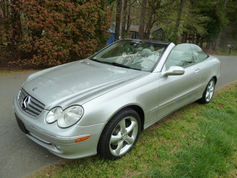 2005 Mercedes-Benz CLK for sale at Templar Auto Group in Matthews NC
