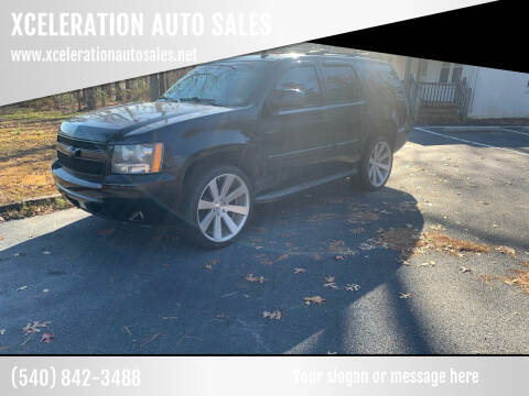2009 Chevrolet Tahoe for sale at XCELERATION AUTO SALES in Chester VA