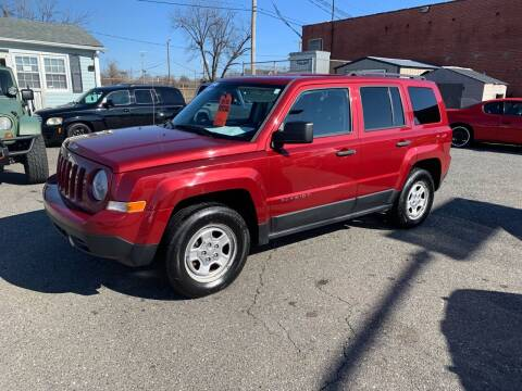 2012 Jeep Patriot for sale at LINDER'S AUTO SALES in Gastonia NC