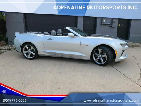 2018 Chevrolet Camaro for sale at Adrenaline Motorsports Inc. in Saginaw MI