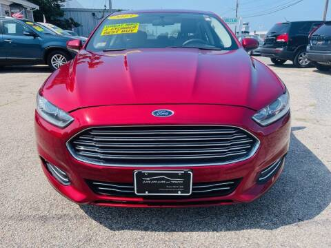 2013 Ford Fusion for sale at Cape Cod Cars & Trucks in Hyannis MA