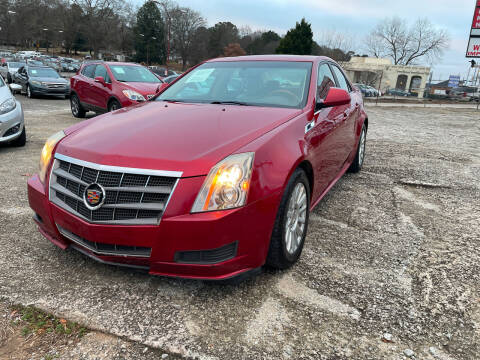 2011 Cadillac CTS for sale at Certified Motors LLC in Mableton GA