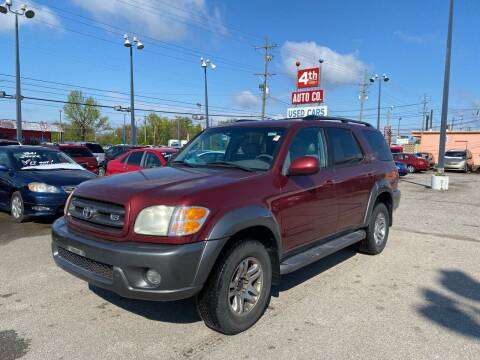 2004 Toyota Sequoia for sale at 4th Street Auto in Louisville KY
