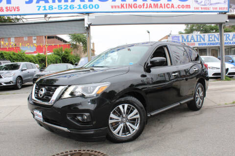 2017 Nissan Pathfinder for sale at MIKEY AUTO INC in Hollis NY