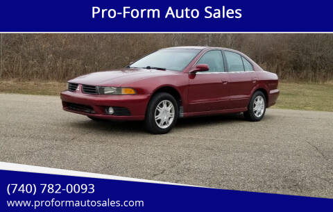 2003 Mitsubishi Galant for sale at Pro-Form Auto Sales in Belmont OH
