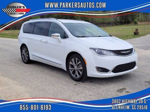 2017 Chrysler Pacifica for sale at Parker's Used Cars in Blenheim SC