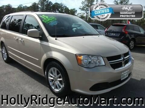 2015 Dodge Grand Caravan for sale at Holly Ridge Auto Mart in Holly Ridge NC
