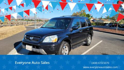 2003 Honda Pilot for sale at Everyone Auto Sales in Santa Clara CA