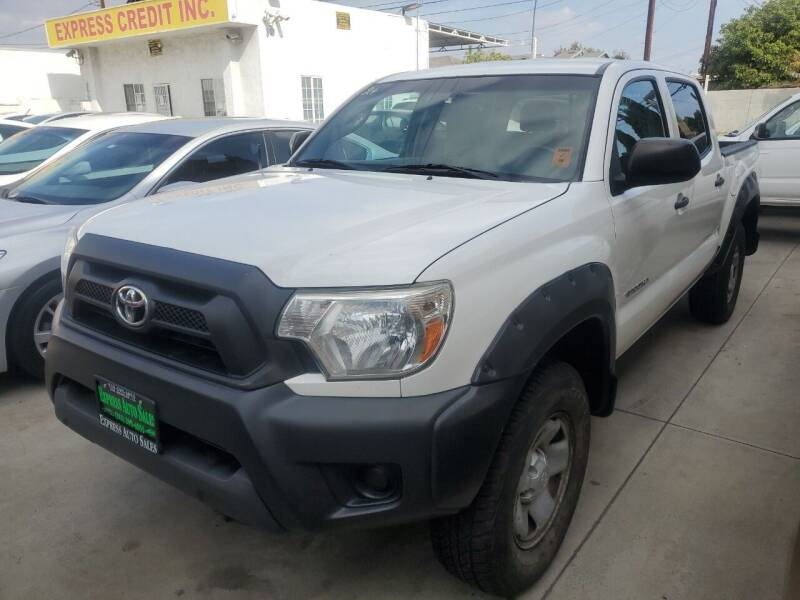 2014 Toyota Tacoma for sale at Express Auto Sales in Los Angeles CA