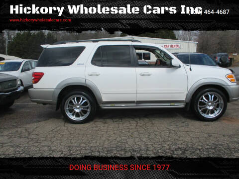2004 Toyota Sequoia for sale at Hickory Wholesale Cars Inc in Newton NC