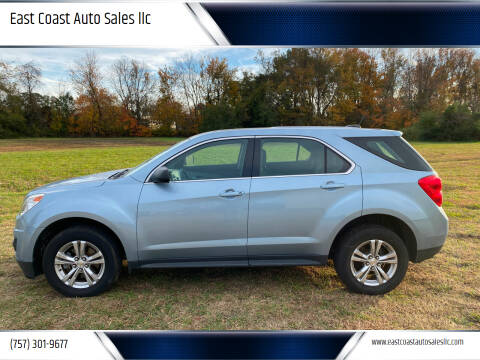 2015 Chevrolet Equinox for sale at East Coast Auto Sales llc in Virginia Beach VA