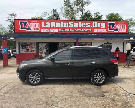 2015 Nissan Pathfinder for sale at LA Auto Sales in Monroe LA