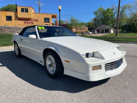 1990 Chevrolet Camaro for sale at Midwest Motors 215 Inc. in Bonner Springs KS
