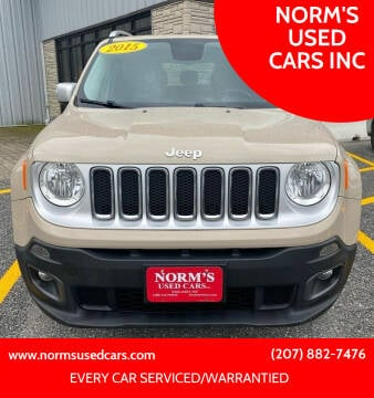 2015 Jeep Renegade for sale at NORM'S USED CARS INC in Wiscasset ME