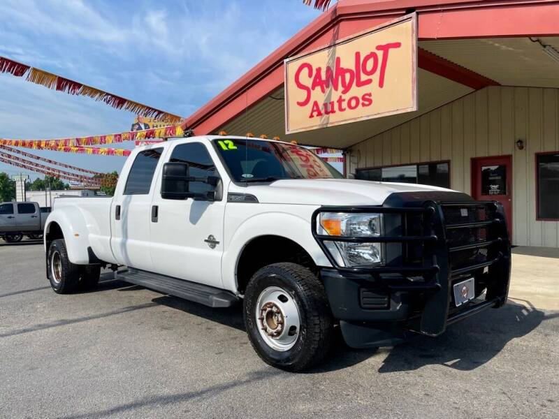 2012 Ford F-350 Super Duty for sale at Sandlot Autos in Tyler TX