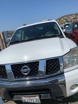 2006 Nissan Titan for sale at GRAND AUTO SALES - CALL or TEXT us at 619-503-3657 in Spring Valley CA