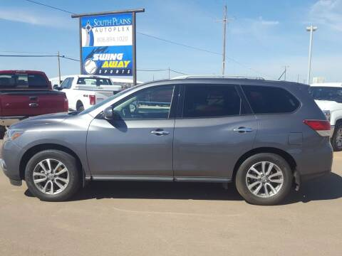 2015 Nissan Pathfinder for sale at South Plains Autoplex by RANDY BUCHANAN in Lubbock TX