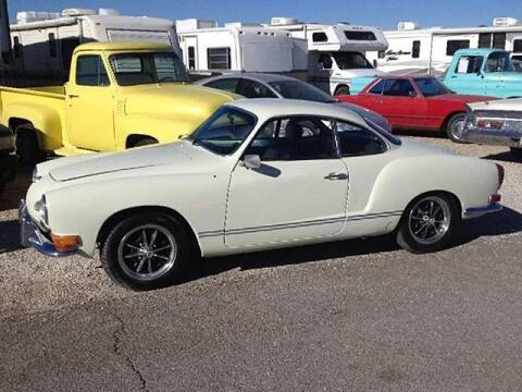 1971 Volkswagen Karmann Ghia for sale at Collector Car Channel - Desert Gardens Mobile Homes in Quartzsite AZ