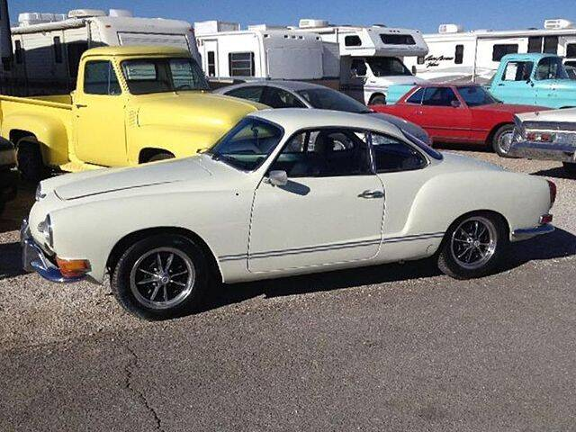 1971 Volkswagen Karmann Ghia for sale at Collector Car Channel - Desert Gardens Mobile Homes in Quartzsite AZ